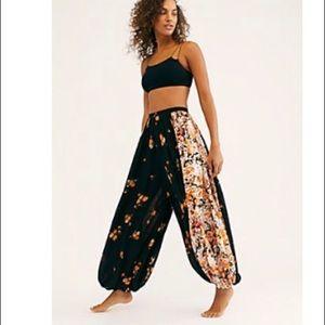 Free People Do Your Dance Print Pants
